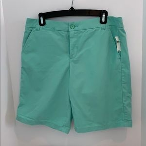 Gap mint green cotton shorts